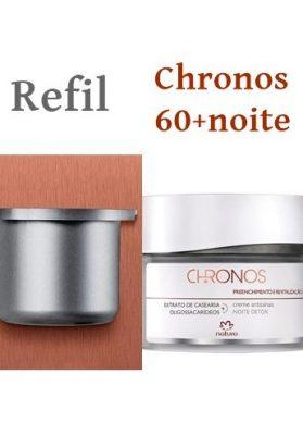 1 Chronos 60+Noite(refil)  Detox  Preenchimento e revitalização  40g  ¥5400
